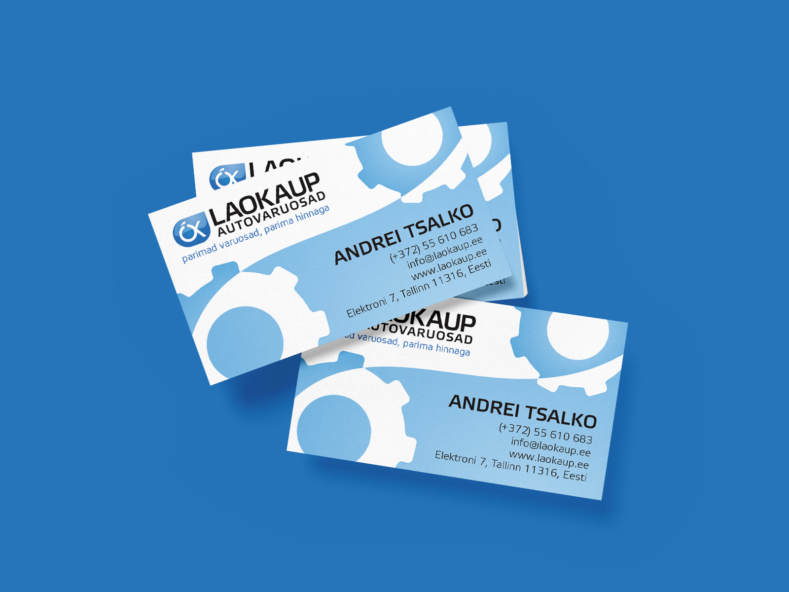 laokaup business card
