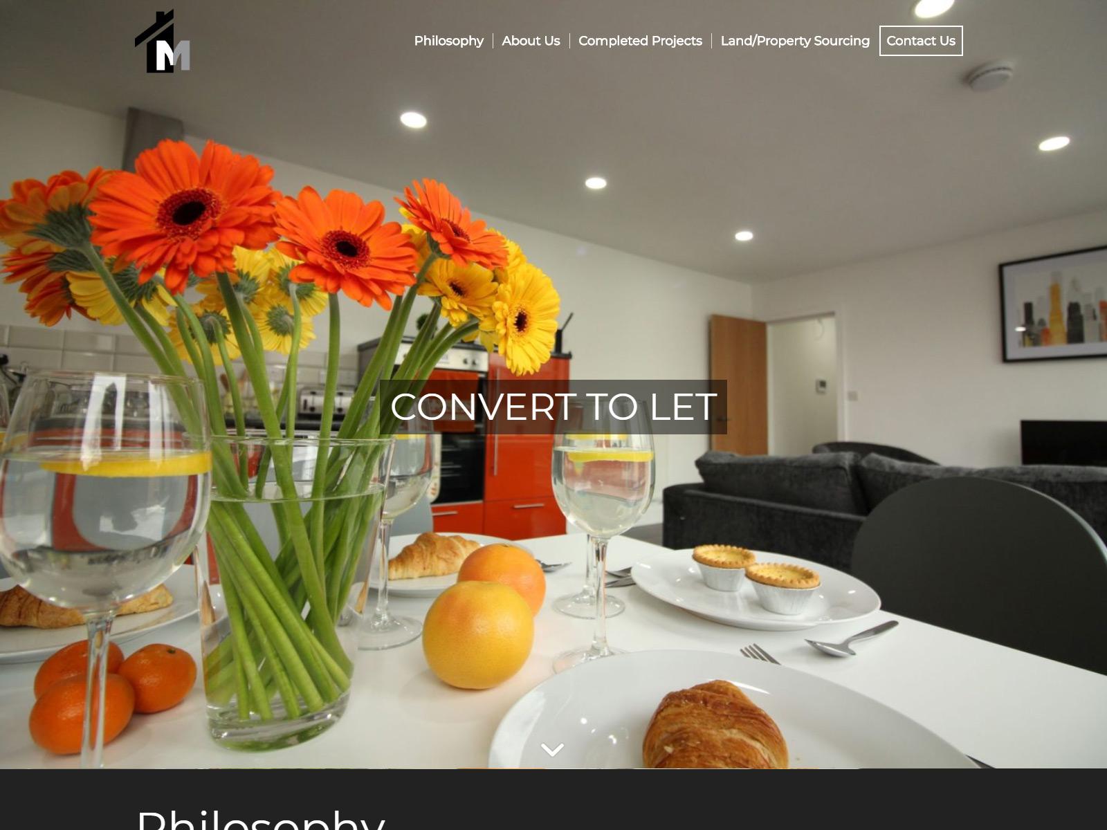 m website