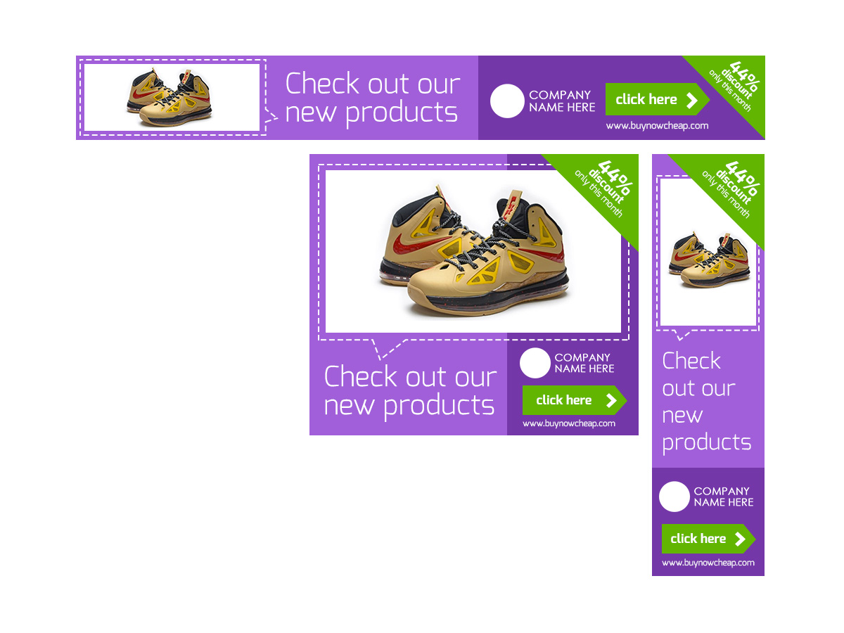 template shopping product simple