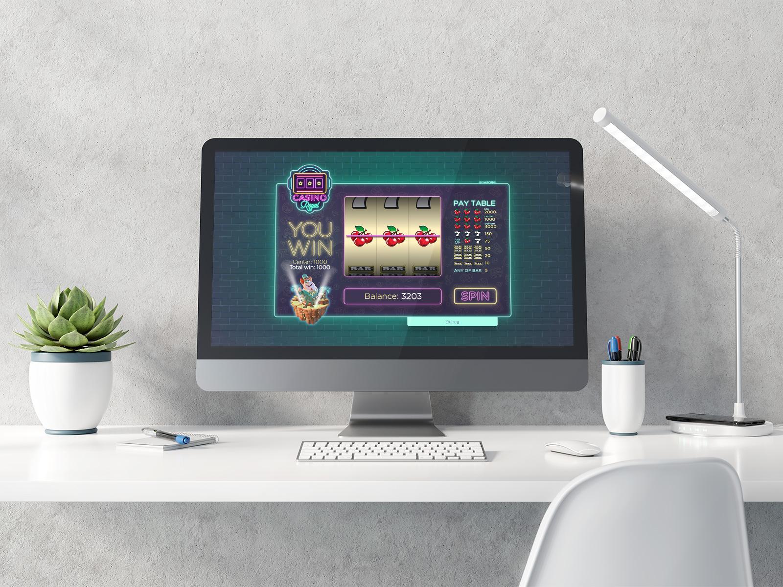 casino slot game development