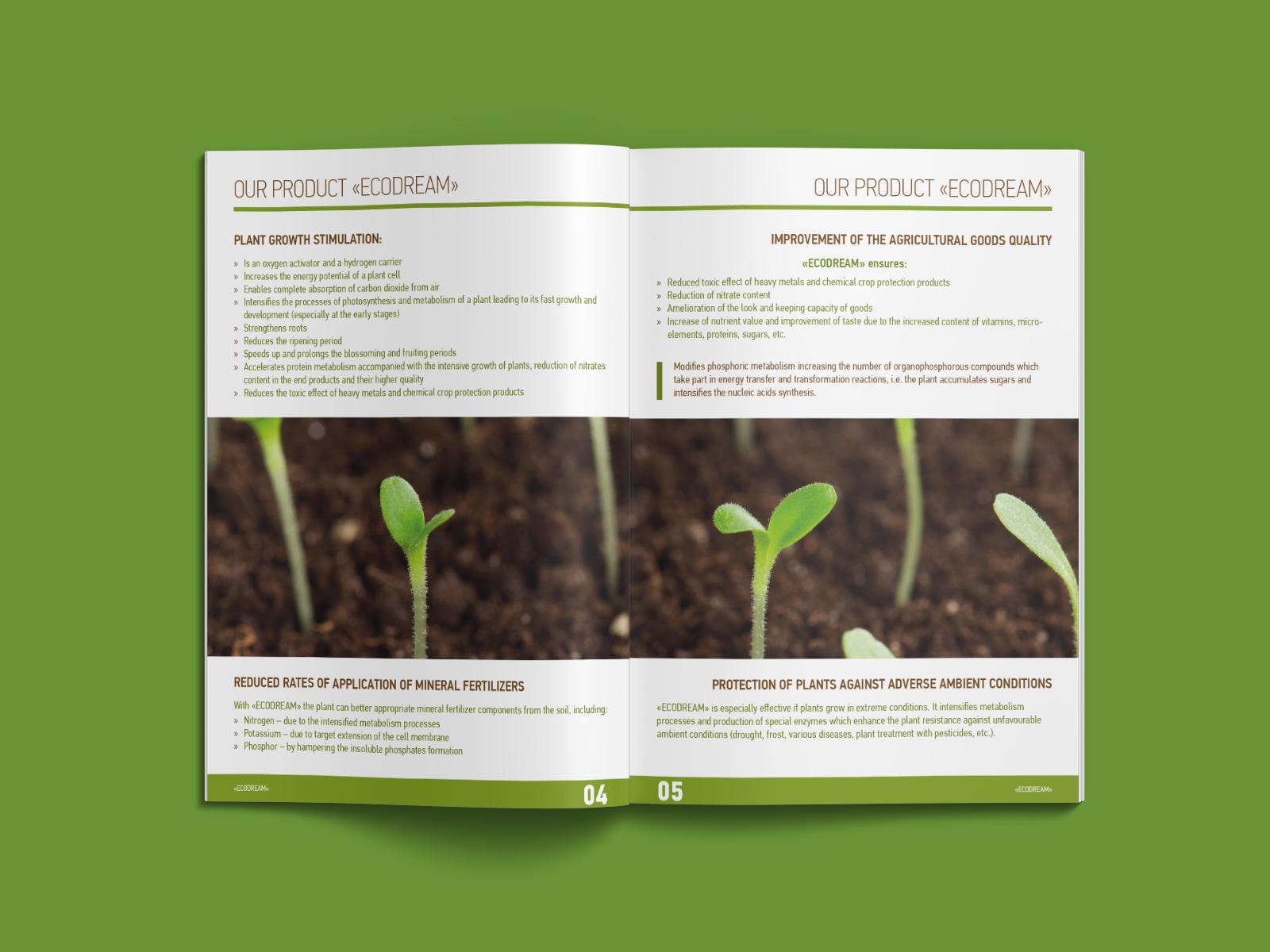 ecodream brochure