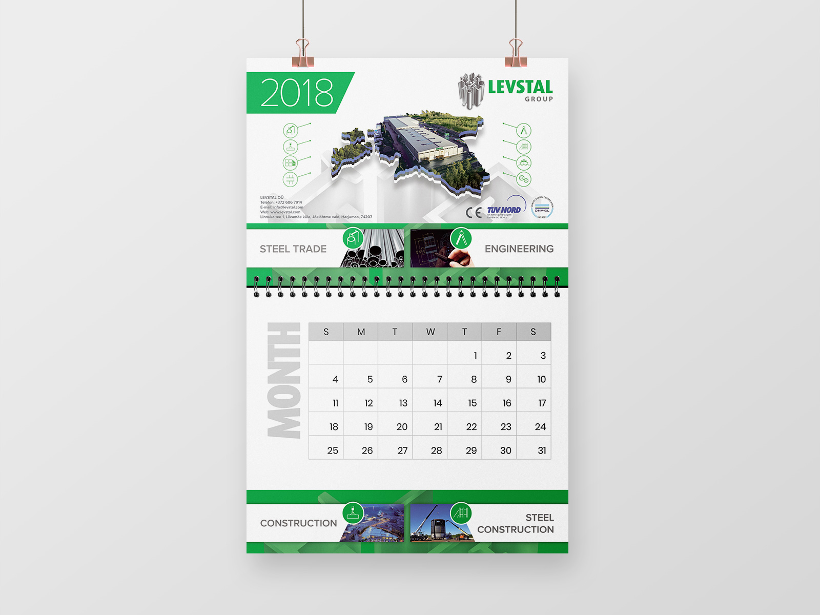 levstal calendar