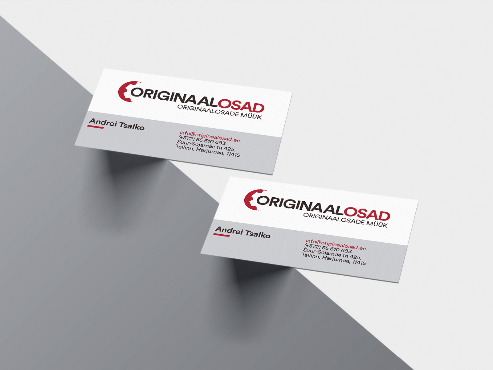originalosad business card