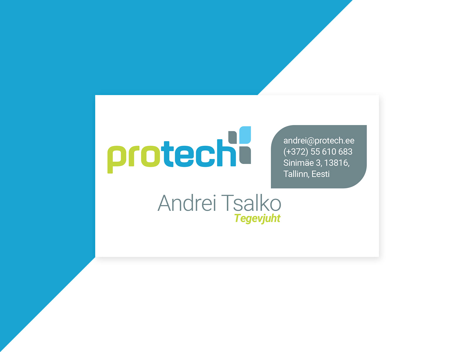 protech business card