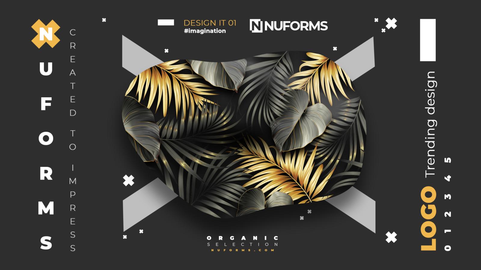 nuforms dark nustyle gold