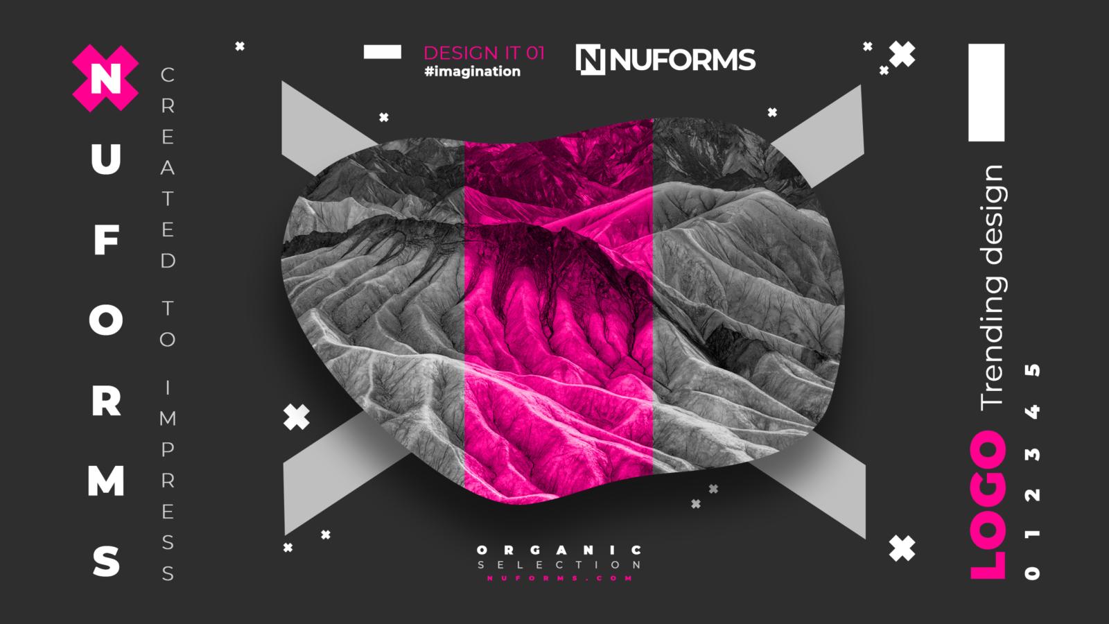nuforms dark nustyle mountains